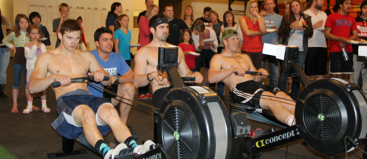 rowing crossfit three