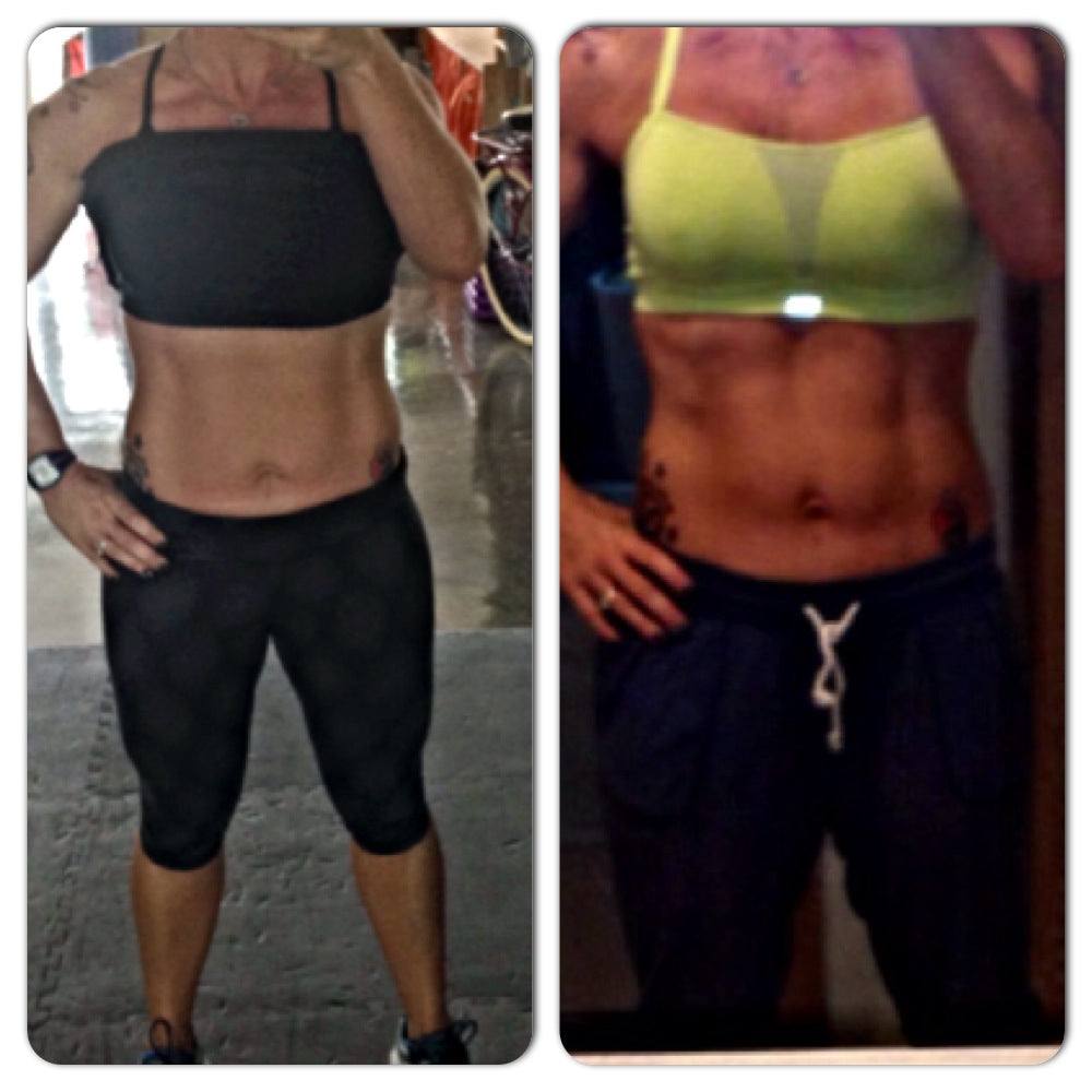 shannon shakeology before and after