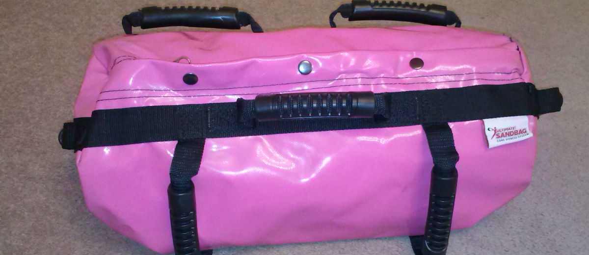 ultimate sandbag - pink