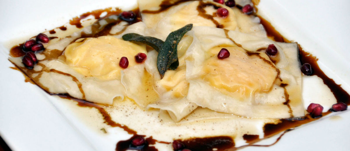 veg wedding ravioli