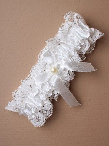 Ribbon Garter - BB Lingerie