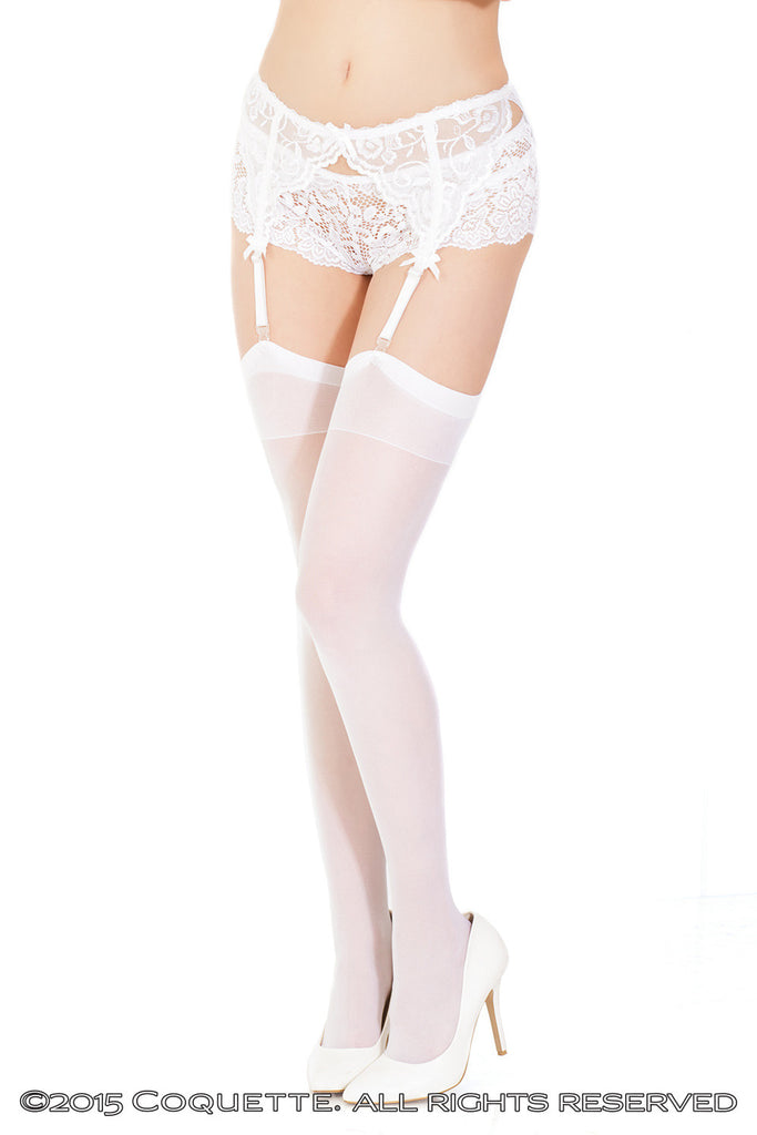 Lydia Back Seam Stockings - BB Lingerie
