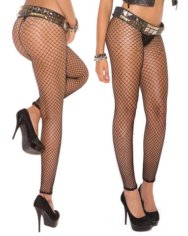 Veronica Fishnet Leggings - BB Lingerie