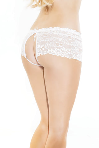 Harmony Crotchless Knickers - BB Lingerie