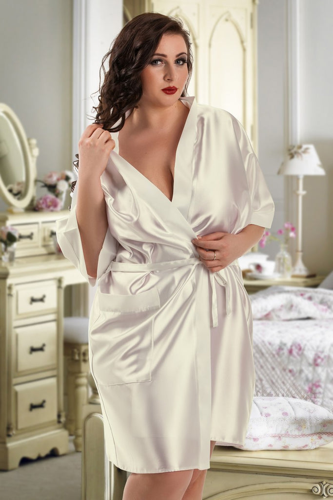 Bridal Satin Robe