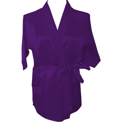 Children's Satin Robe - BB Lingerie