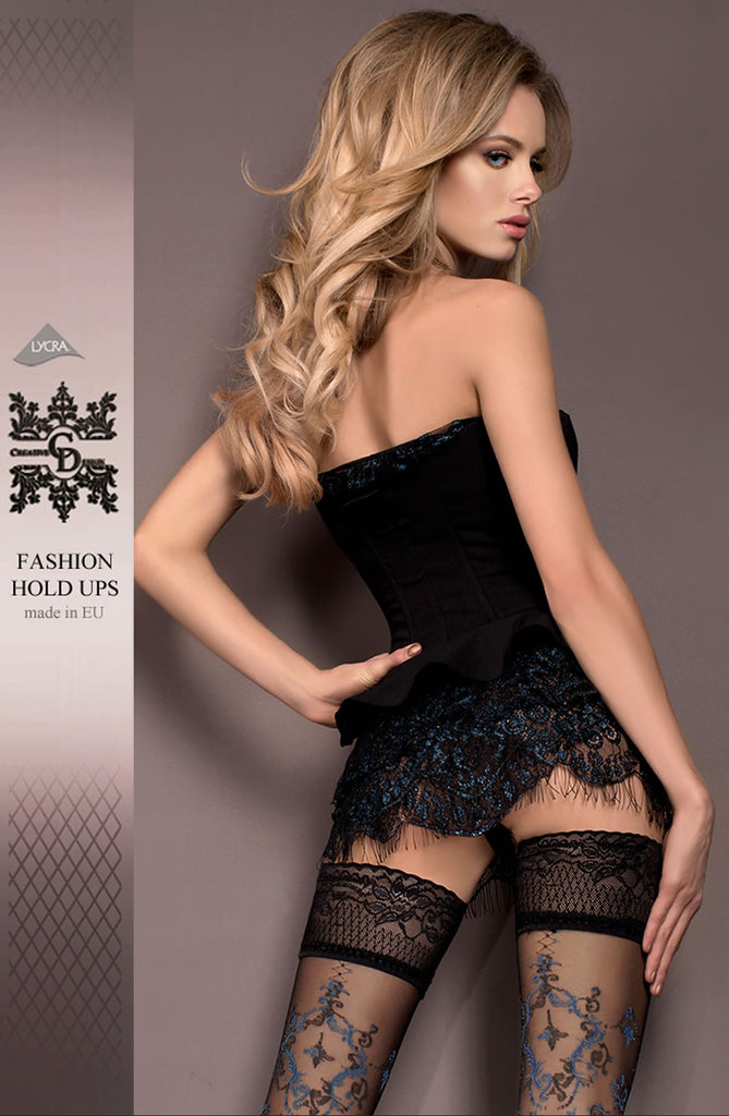 B416 Hold Ups - BB Lingerie
