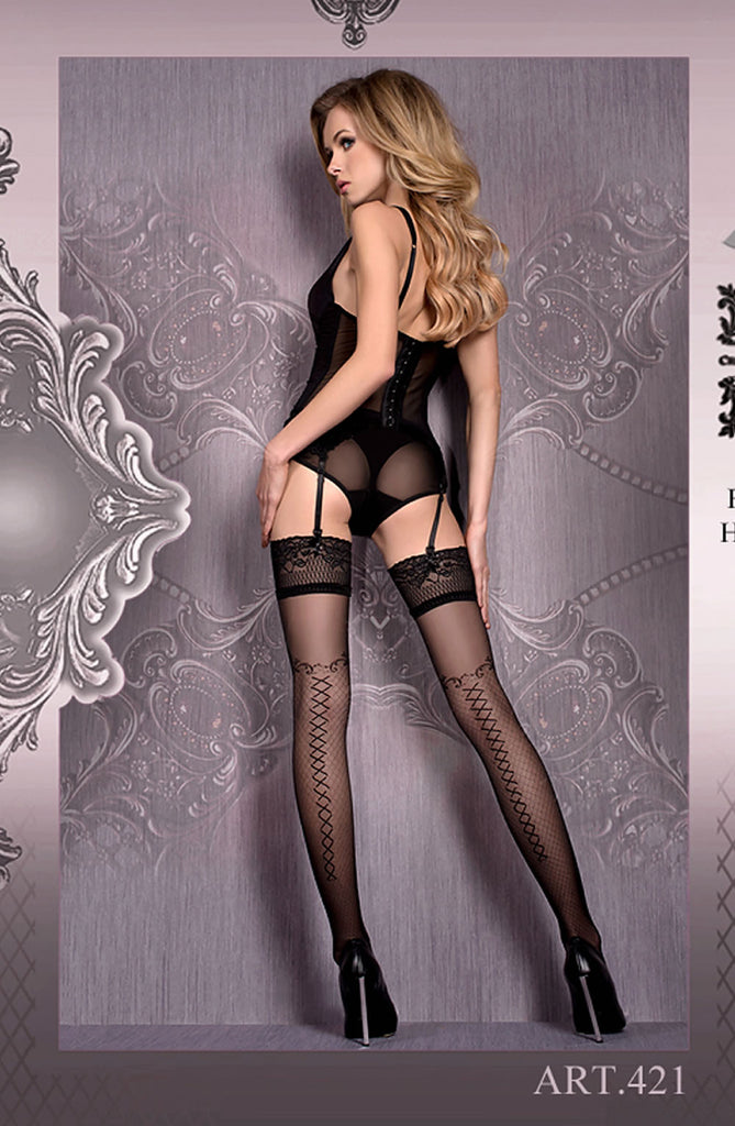 B421 Hold Ups - BB Lingerie