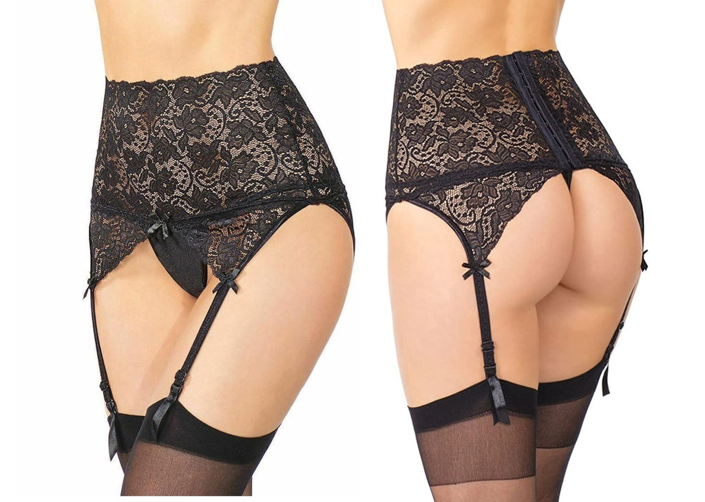 Dafne Retro Suspender Belt
