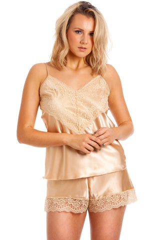 Lola Satin Pyjama Set - BB Lingerie