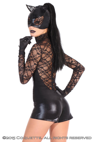 Lace Cat Mask - BB Lingerie
