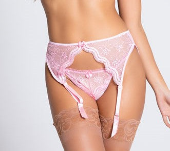 Maci Suspender Belt - BB Lingerie