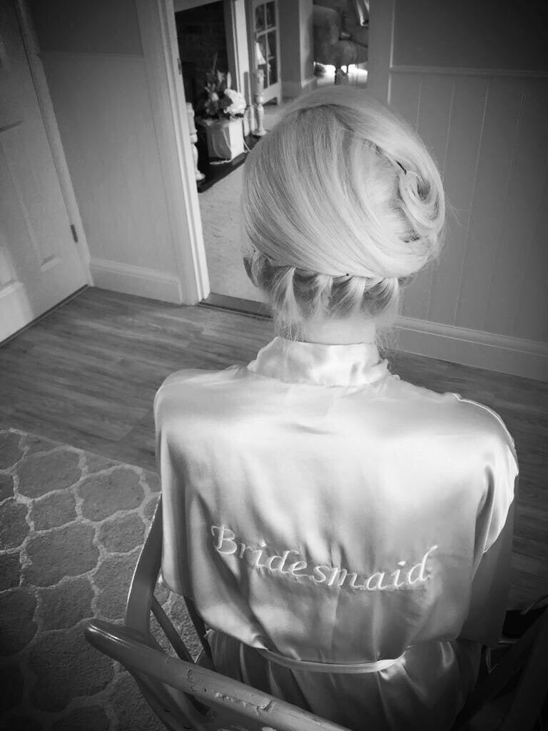 Personalised Bridesmaid Robe Embroidery Personalized Bridal Party ...