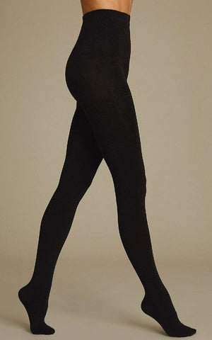 40/60/80/100 Denier Black Tights - BB Lingerie