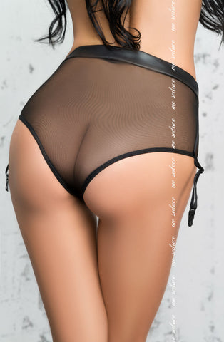 Ina Faux Leather Knickers