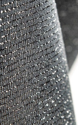 200 Denier Grey Sparkle Tights - BB Lingerie