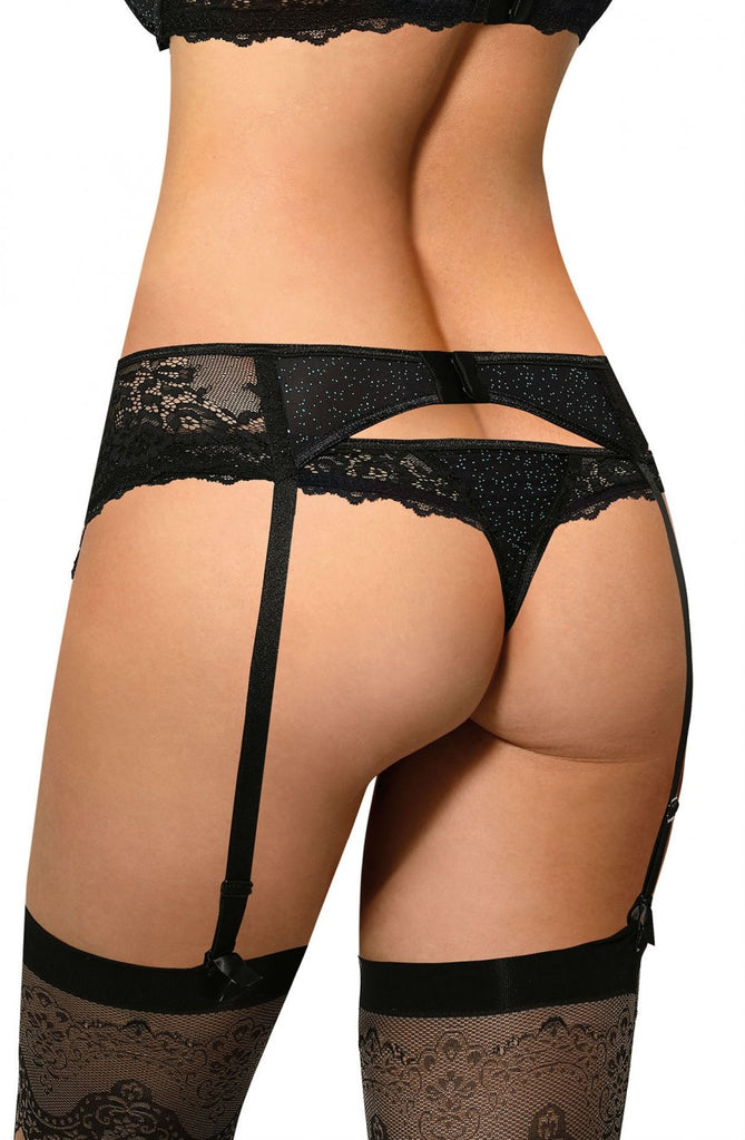 Ester Suspender Belt - BB Lingerie