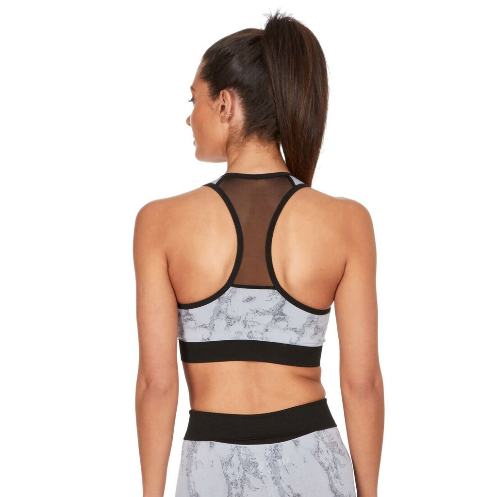 Marble Padded Gym Top - BB Lingerie