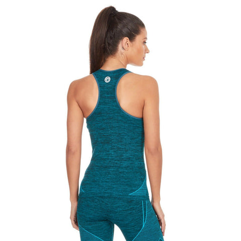 Teal Padded Gym Top - BB Lingerie