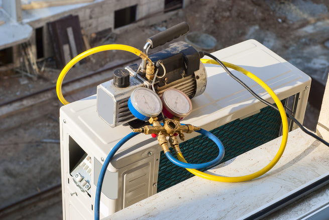 how to correctly evacuate a refrigeration or air conditioning system with a vacuum  pump how to correctly evacuate a refrigeration or air conditioning system