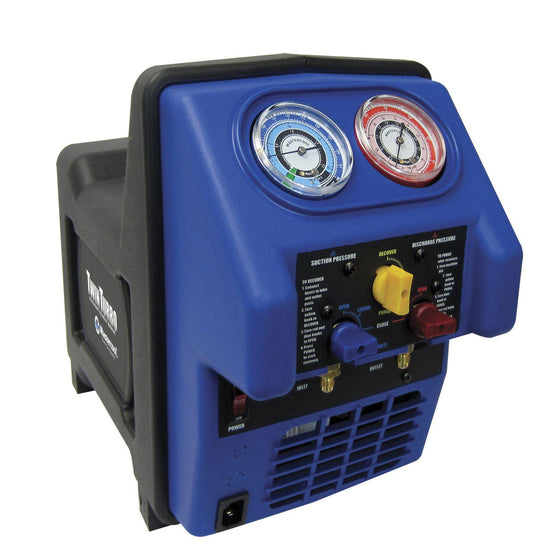 Mastercool Refrigerant Recovery Unit Twin Turbo R32 Compatible 69300-220-Recovery Units-Mastercool-Cool Tools HVAC-R