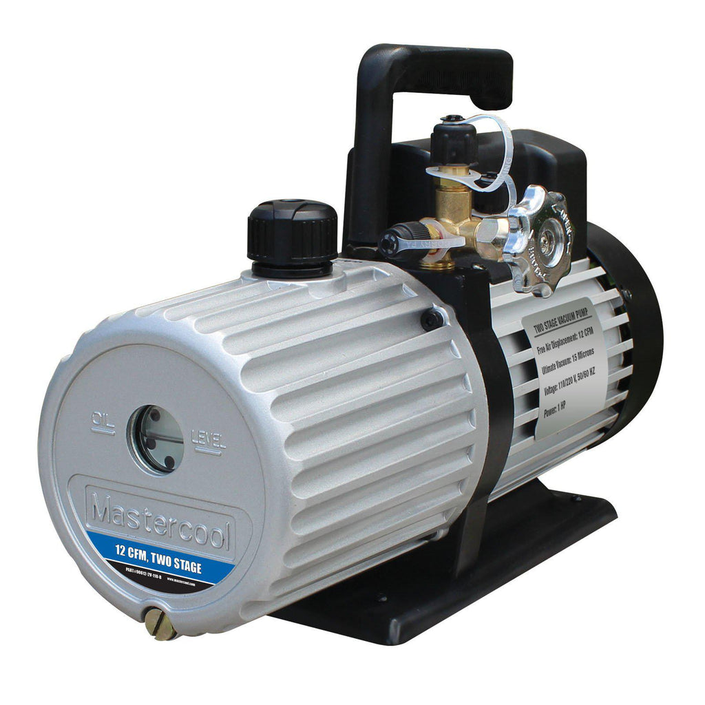 Mastercool Vacuum Pump 2-Stage 283 Litre/Min 90612-2v-220-B-Vacuum Pumps-Mastercool-Cool Tools HVAC-R