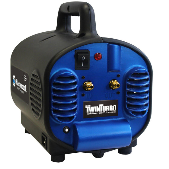 Mastercool Recovery Unit Twin Mini Combustible Gas Compatible 69400-220-Recovery Units-Mastercool-Cool Tools HVAC-R