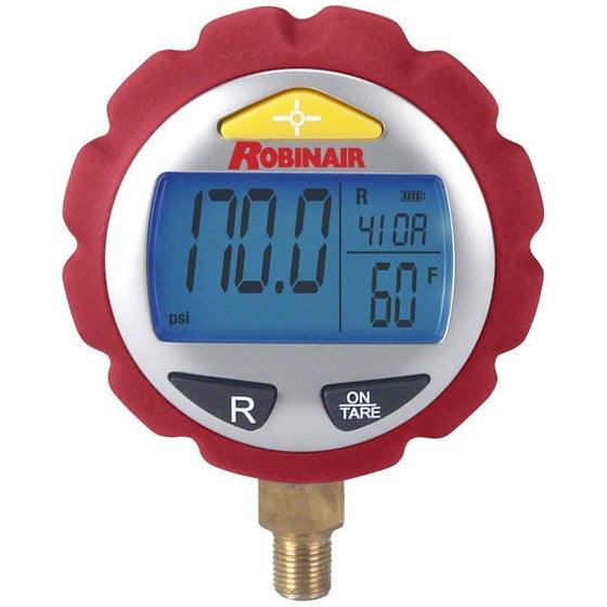 Robinair Digital Gauge (High Pressure) 11920-Refrigerant Gauges-Robinair-Cool Tools HVAC-R