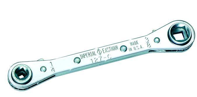 Imperial Rachet Wrench Service Tool Square - 127-C-Service Key Ratchet Wrench-Imperial-Cool Tools HVAC-R