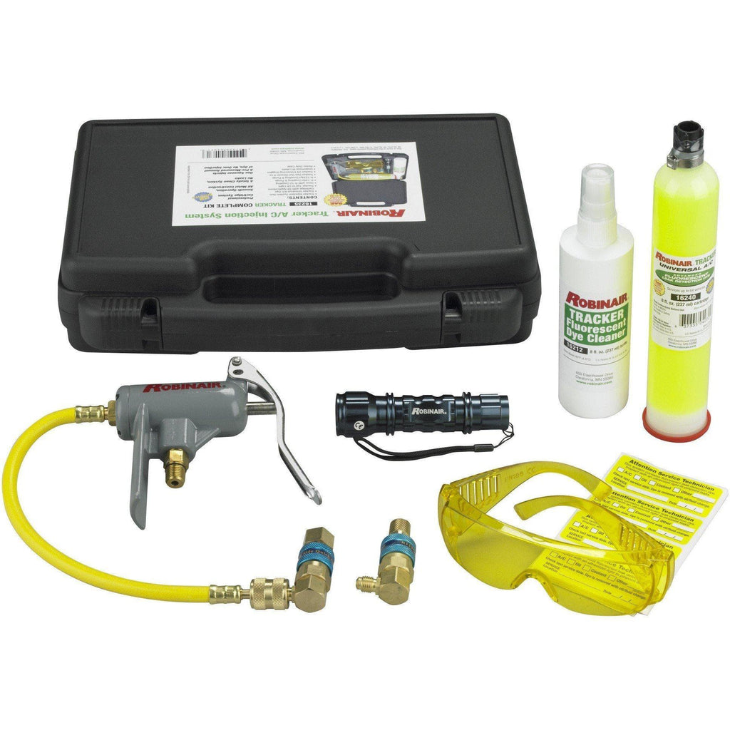 Robinair UV Leak Detection Kit Advanced 16235-UV Dye Kit-Robinair-Cool Tools HVAC-R