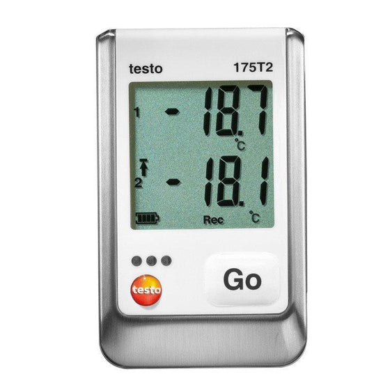 Testo 175 T2 - Two Channel Temperature Logger-Data Logger-Testo-Cool Tools HVAC-R