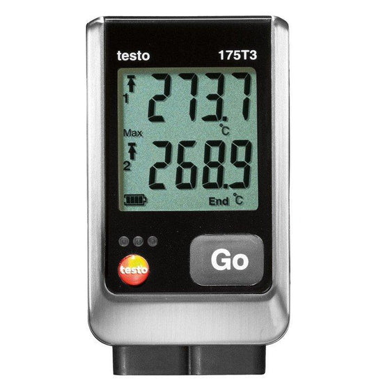 Testo 175 T3 Dual Thermocouple Logger-Data Logger-Testo-Cool Tools HVAC-R