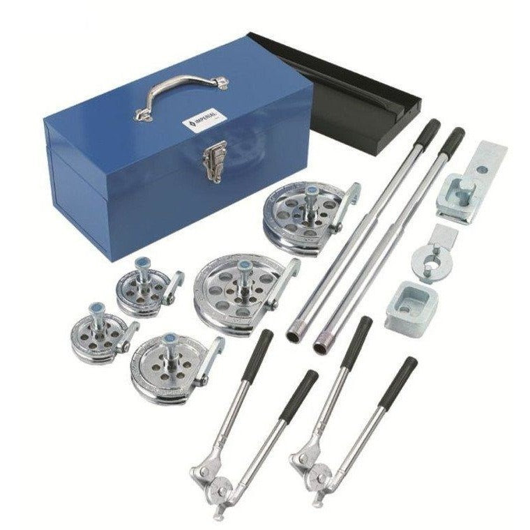 Imperial 260-FHA Tube Bender Kit with 7-Size Inter-changeable Heads-Imperial-Cool Tools HVAC-R
