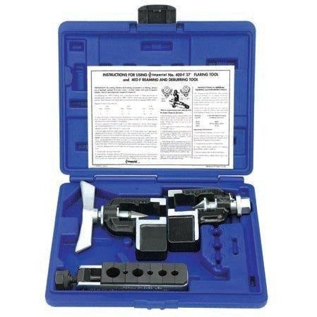 "Imperial 37º Flaring & Reaming Kit for 3/16"" to 5/8"" O.D. TUBE 402-FA-Imperial-Cool Tools HVAC-R"
