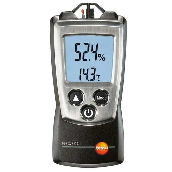 Testo 610 Pocket Sized Hygrometer-Hygrometer-Testo-Cool Tools HVAC-R
