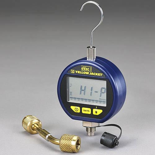 Yellow Jacket EVAC I DIGITAL VACUUM GAUGE 69047-Vacuum Gauges-Yellow Jacket-Cool Tools HVAC-R