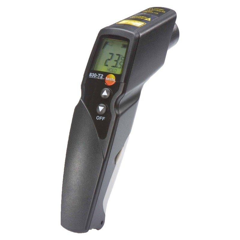 Testo 830 T2 kit - 2 Point IR Thermometer-Thermometer-Testo-Cool Tools HVAC-R