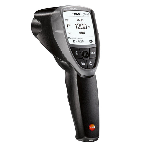 Testo 835T2 High Temperature IR Thermometer-Testo-Cool Tools HVAC-R