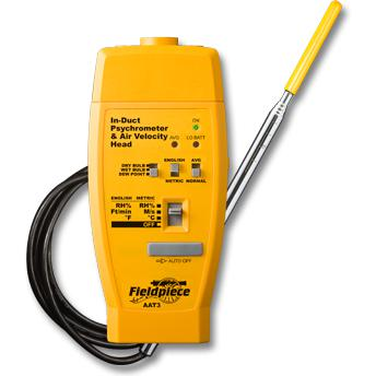 Fieldpiece Hot-wire Anemometer & Psychrometer Accessory Head AAT3-Fieldpiece HVAC Tool-Fieldpiece-Cool Tools HVAC-R