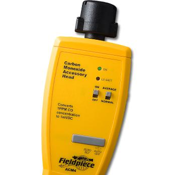 Fieldpiece Carbon Monoxide Detector Accessory Head ACM4-Fieldpiece HVAC Tool-Fieldpiece-Cool Tools HVAC-R