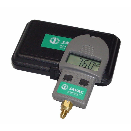 Javac Acravac Digital Vacuum Gauge-Vacuum Gauges-Javac-Cool Tools HVAC-R