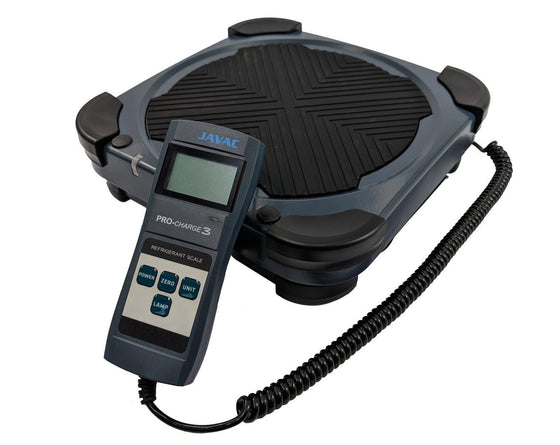 Javac Procharge 3 100kg Digital Refrigerant Scales - C12626-Digital Scales-Javac-Cool Tools HVAC-R