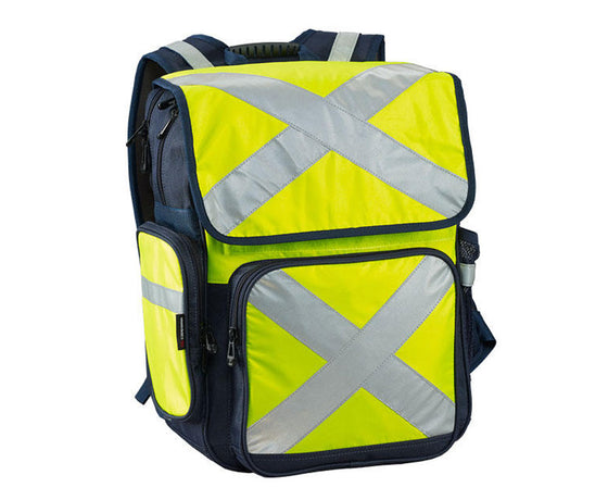 HI-VIS 34 Litre Safety Backpack - Yellow -CARI11803Y-safety-System Control Engineering-Cool Tools HVAC-R