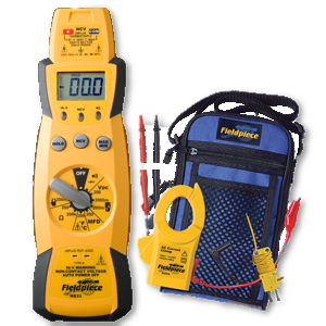 Fieldpiece Expandable Manual Ranging Stick Multimeter for HVAC/R - HS33-Fieldpiece-Cool Tools HVAC-R