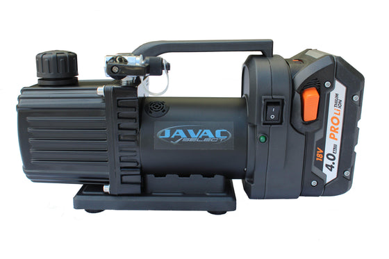 Javac 30 L/Min Cordless Portable Vacuum Pump 2 Stage - CDC-30-Vacuum Pumps-Javac-Cool Tools HVAC-R