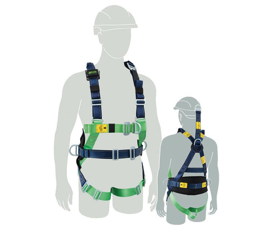 Honeywell Miller Polyester Harness - Riggers - FA - EXT-safety-System Control Engineering-Cool Tools HVAC-R