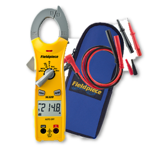 Fieldpiece Compact Clamp Meter SC220-Fieldpiece HVAC Tool-Fieldpiece-Cool Tools HVAC-R