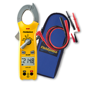 Fieldpiece Compact Clamp Meter SC240-Fieldpiece-Cool Tools HVAC-R