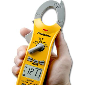 Fieldpiece Compact Clamp Meter SC240-Fieldpiece HVAC Tool-Fieldpiece-Cool Tools HVAC-R