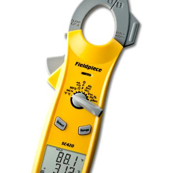 Fieldpiece Dual DisplayTrue RMS AC Clamp Meter SC420-Fieldpiece HVAC Tool-Fieldpiece-Cool Tools HVAC-R